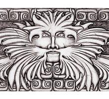 Aztek Guardian by Diane Johnson-Mosley