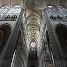 The Nave and Transept of Amiens by Gothman