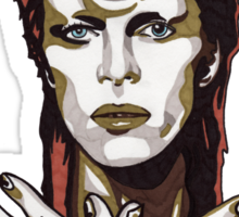 David Bowie t-shirt Sticker