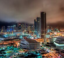 Miami By Night by Dustin Spengler