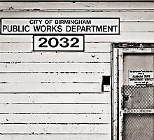 Public Works Department, Birmingham, Alabama by Gerry Daniel