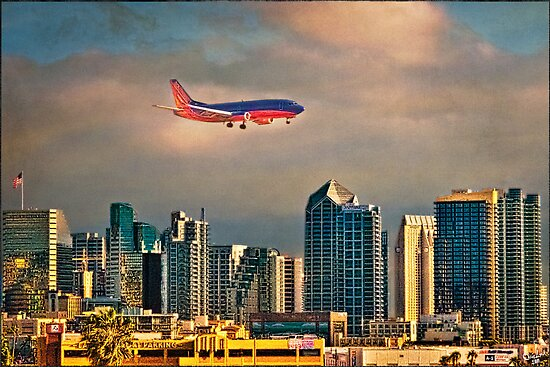 Flying Past Downtown by Chris Lord