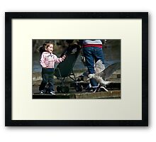 Birdie, You're Funny! Framed Print