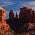 Cathedral Rock - Sedona (panoramic)  by Melissa Seaback