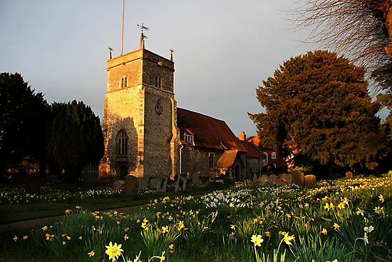 St Mary's Church Bucklebury by Samantha Higgs