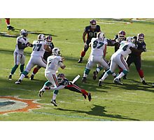 chad henne sacked Photographic Print