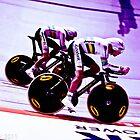 aus team pursuit by Paul  Sloper