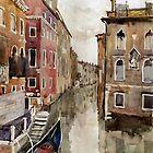 Venice canal by Julia Shepeleva
