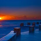 Coogee Sunrise by Erik Schlogl