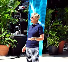 Shout out from Ellen Degeneres by Davidsdigits