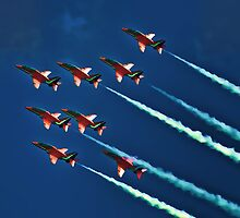 Red Arrows Display Team by GrahamWhite