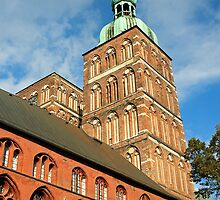 MVP17 Nikolai Kirche & Town Hall, Stralsund, Germany. by David A. L. Davies