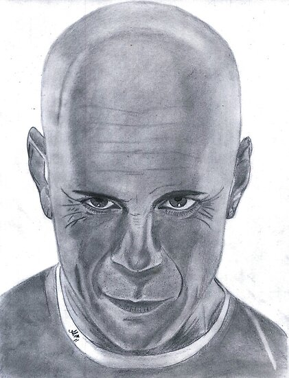 Bruce willis by Bobby Dar
