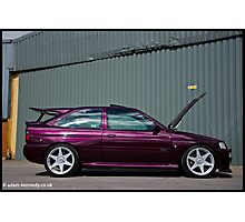 Escort Cosworth Monte - Side Shot Photographic Print