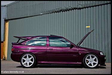 Escort Cosworth Monte - Side Shot by Adam Kennedy
