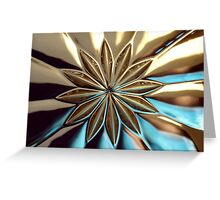Glass Flower Greeting Card