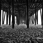 Under the pier... by Cleber Design Photo