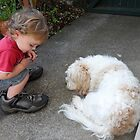 a boy and his dog by chrissy mitchell