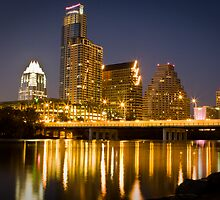 Austin City Skyline by Alex Ponce