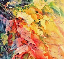 In The Flow Of Leaves by Deborah Younglao