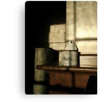 """""""SALT BOX"""" Canvas Print"""
