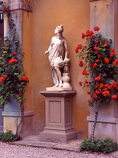 Garden Sculpture, Florence, Italy. by johnrf