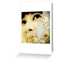 Jigsawed I Greeting Card
