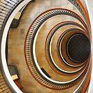Vintage Staircase by Nasko .