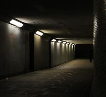 Birmingham - Nighttime Underpass by Christopher Godwin