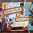 Stephen Fry Up collage by aesthetic221