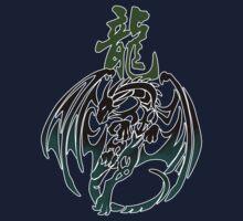 Dragon tribal tattoo by jccat