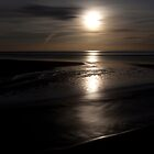 balmedie beach by moonlight (2) by codaimages
