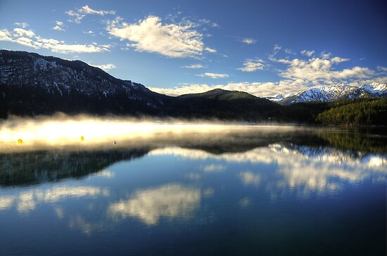 Eibsee Germany by Hans Kool