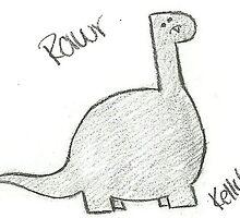 Cute Dinosaur by xMyLittlePwnyyx