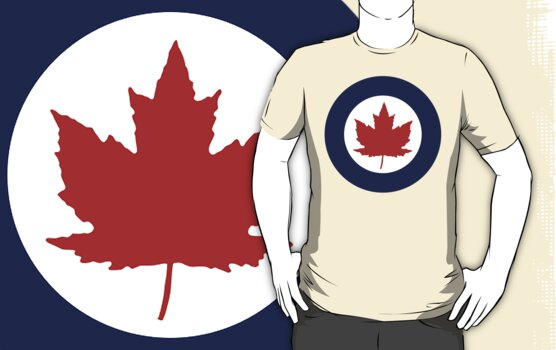 Royal Canadian Air Force Insignia (1946-1965) by warbirdwear