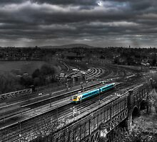 Shrewsbury Train by dan williams