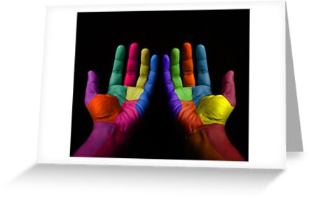 Colorful Hands by Nasko .