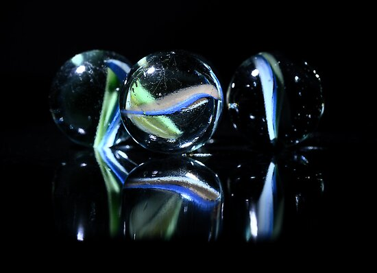 Marbles by Nigel Bangert