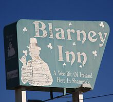 Route 66 - Blarney Inn by Frank Romeo