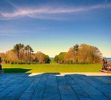 Rolling Hills at Crane Estate by Monica M. Scanlan