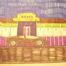 DINNER CAR AND CAR by TSykes