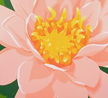 Tranquil Water Lily by Kris Jean