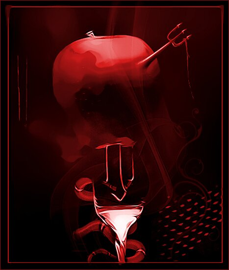The Temptation of Red by Carmen Holly