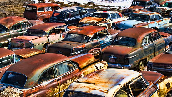 JUNK YARD OF CLASSICS by pshootermike