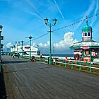 Blackpool North Pier by John Hare