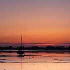 Heybridge Basin 06.26 am Essex  UK by James  Key