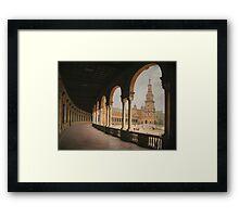 Plaza de España - Sevilla Framed Print