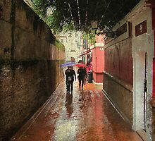 Rain in Sevilla by rentedochan