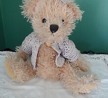 Abbys little teddy ` by chrissy mitchell