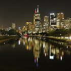Melbourne and the Yarra River by Paul Campbell Psychology